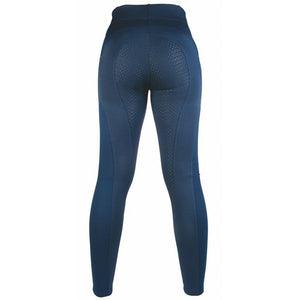 Riding leggings -Mesh- Style silicone full seat
