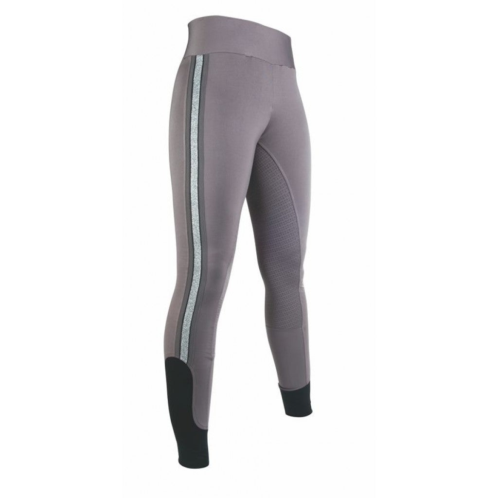 Riding leggings -Silver Stripe- Style s. f. seat