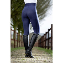 Riding leggings -Highwaist- Style sil. full seat