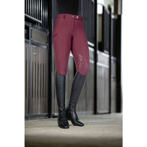 Riding breeches -Morello PAM- silicone knee patch