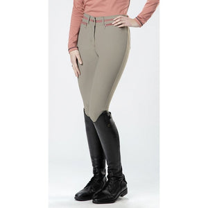 Riding breeches -Topas- CM Style sil. knee patch