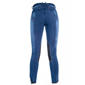 Riding breeches -Summer Denim- Alos knee patch