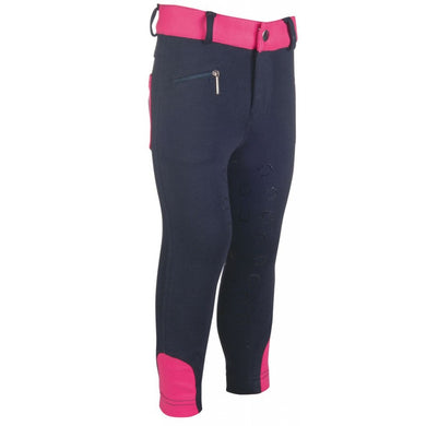 Riding breeches -Champ- silicone knee patch