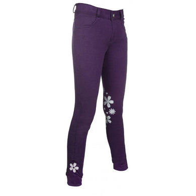 Riding breeches -Leni- silicone knee patch