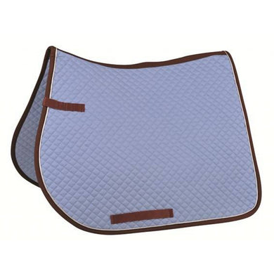 Saddle cloth with piping, general-purpose