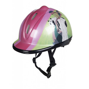 Riding helmet -New Jump into my heart-