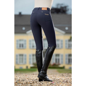 Riding breeches -LG Basic- knee patch