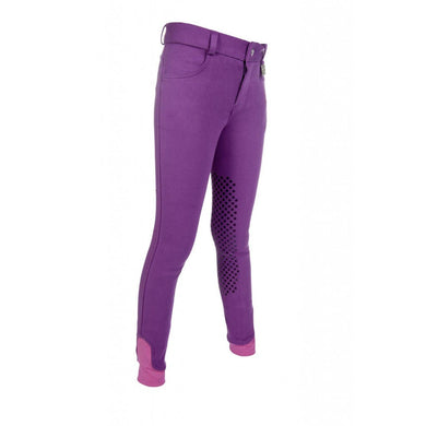 Riding breeches -Kids Easy- silicone knee patch
