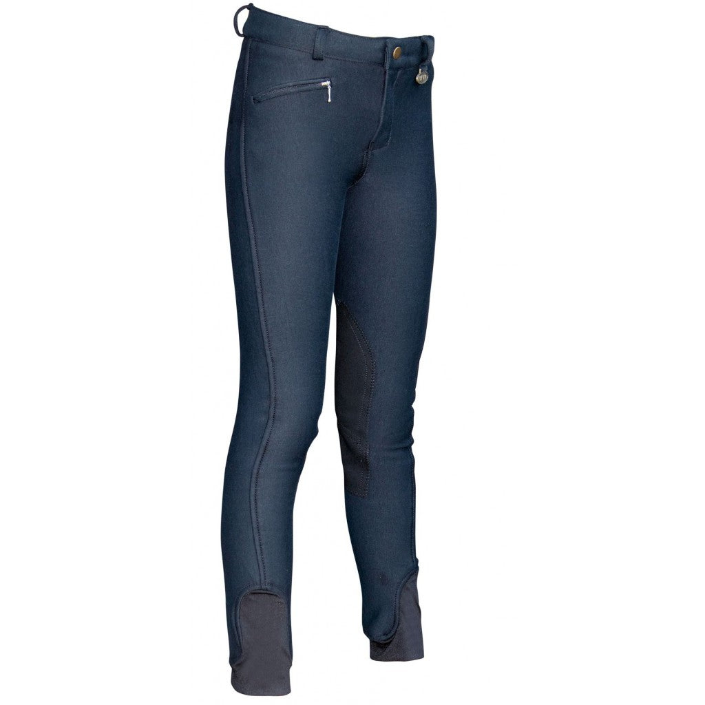 Breeches -Essen Easy- with imitation leather knee