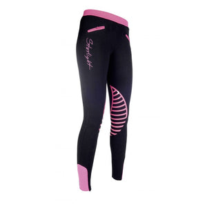 Riding leggings -Starlight- silicone knee patch