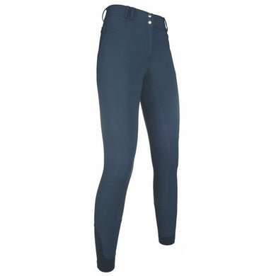 Softshell riding breeches -Armonia- sil. full seat