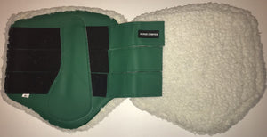 Brushing Boots - Fleece lined - Green