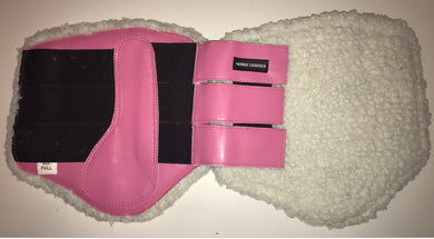 Brushing Boots - Fleece lined - Pink