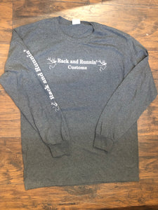Charcoal Long Sleeve- Double Down