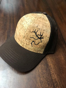 Cork & brown snapback