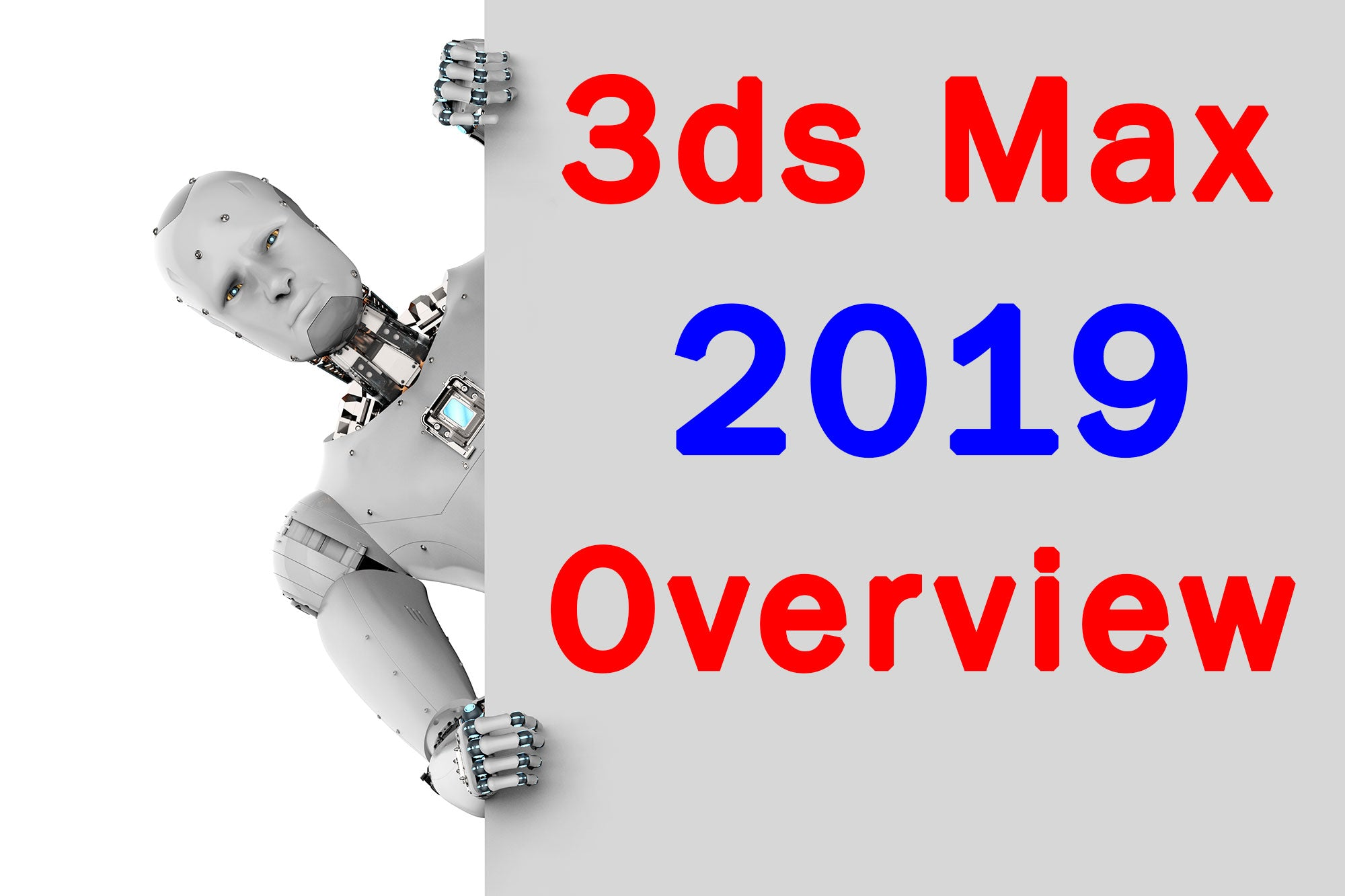 3dsMax 2019 Overview