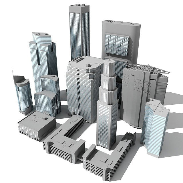 Buildings 3D Models