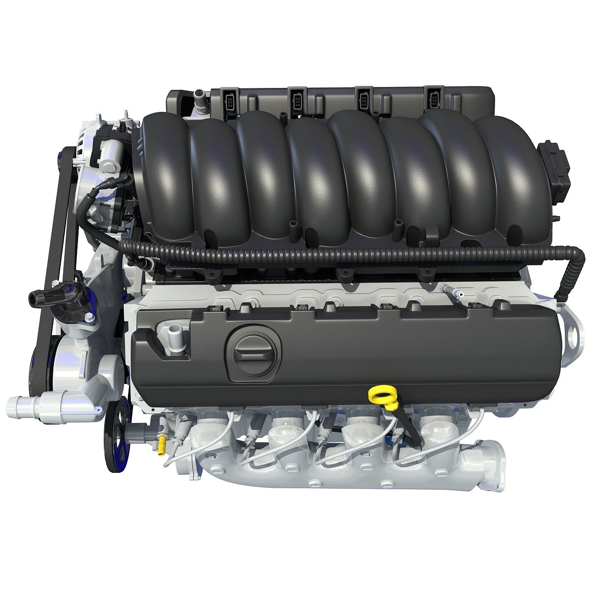 New V8 Chevrolet Silverado Engine