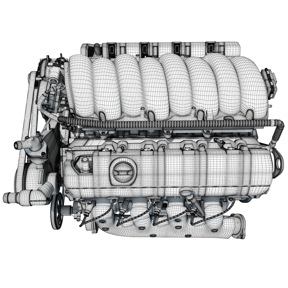 New V8  Engine