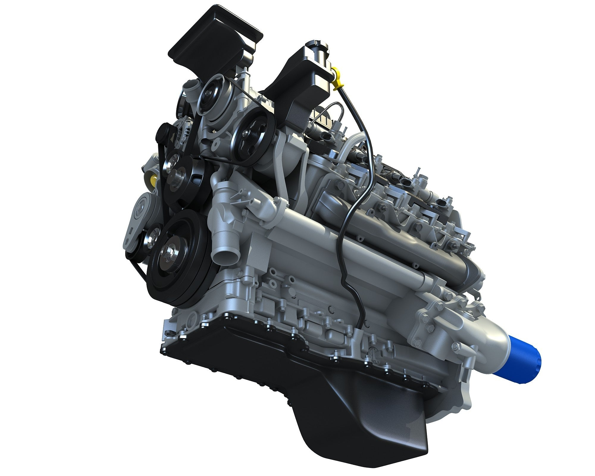 Duramax V8 Turbo Engine