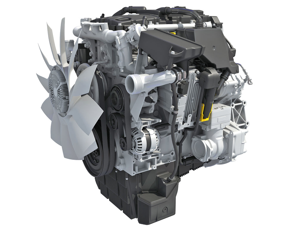 Detroit DD5 Engine