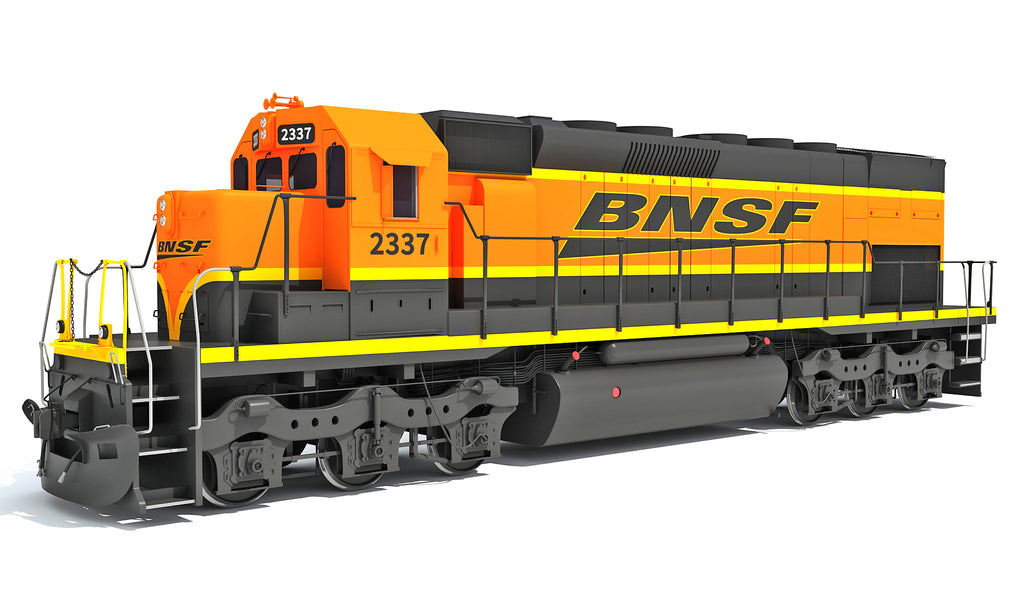 Locomotive Train BNSF