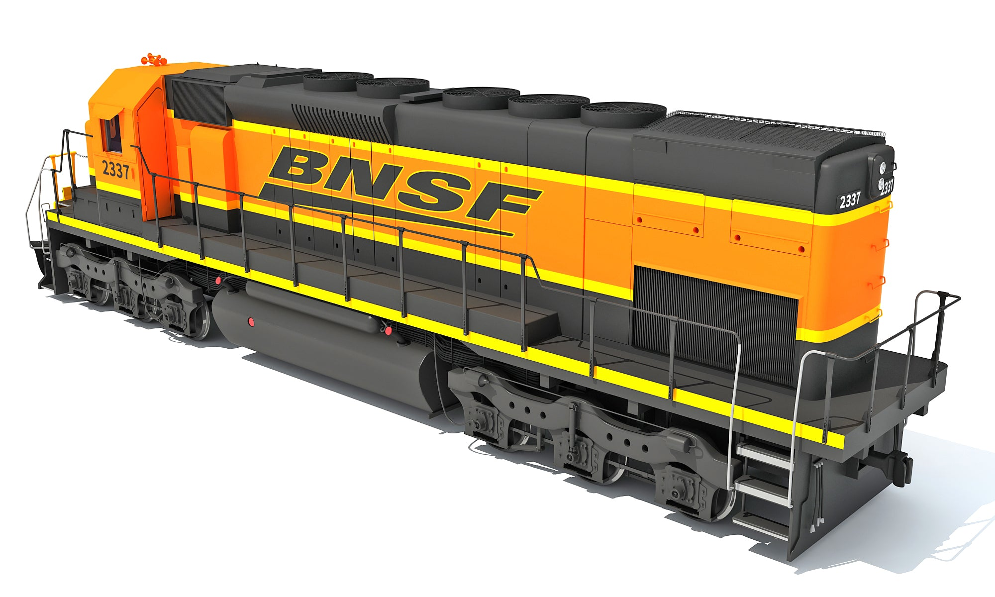 3D Locomotive Models