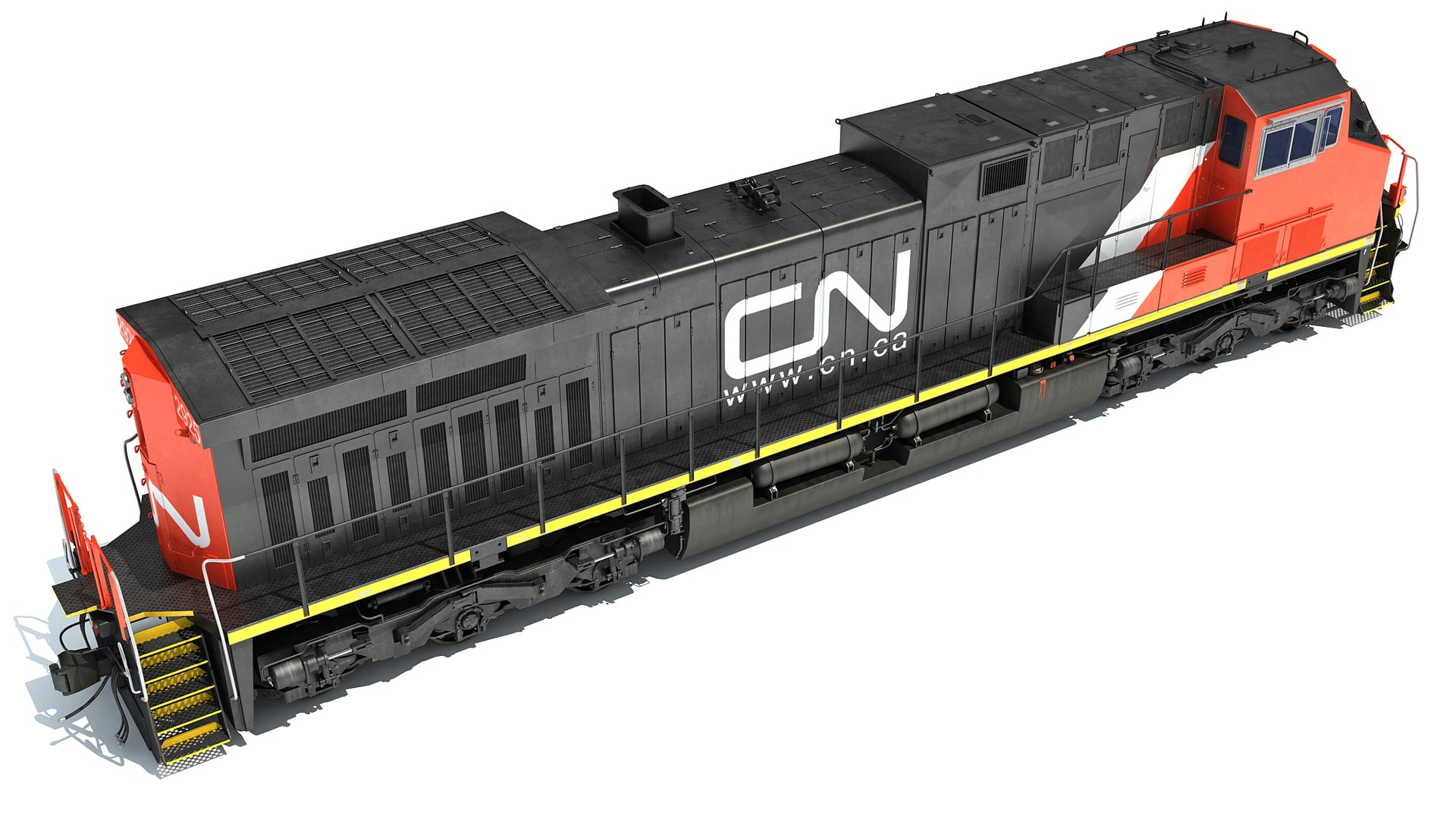 Locomotive Canadian National Railway CN