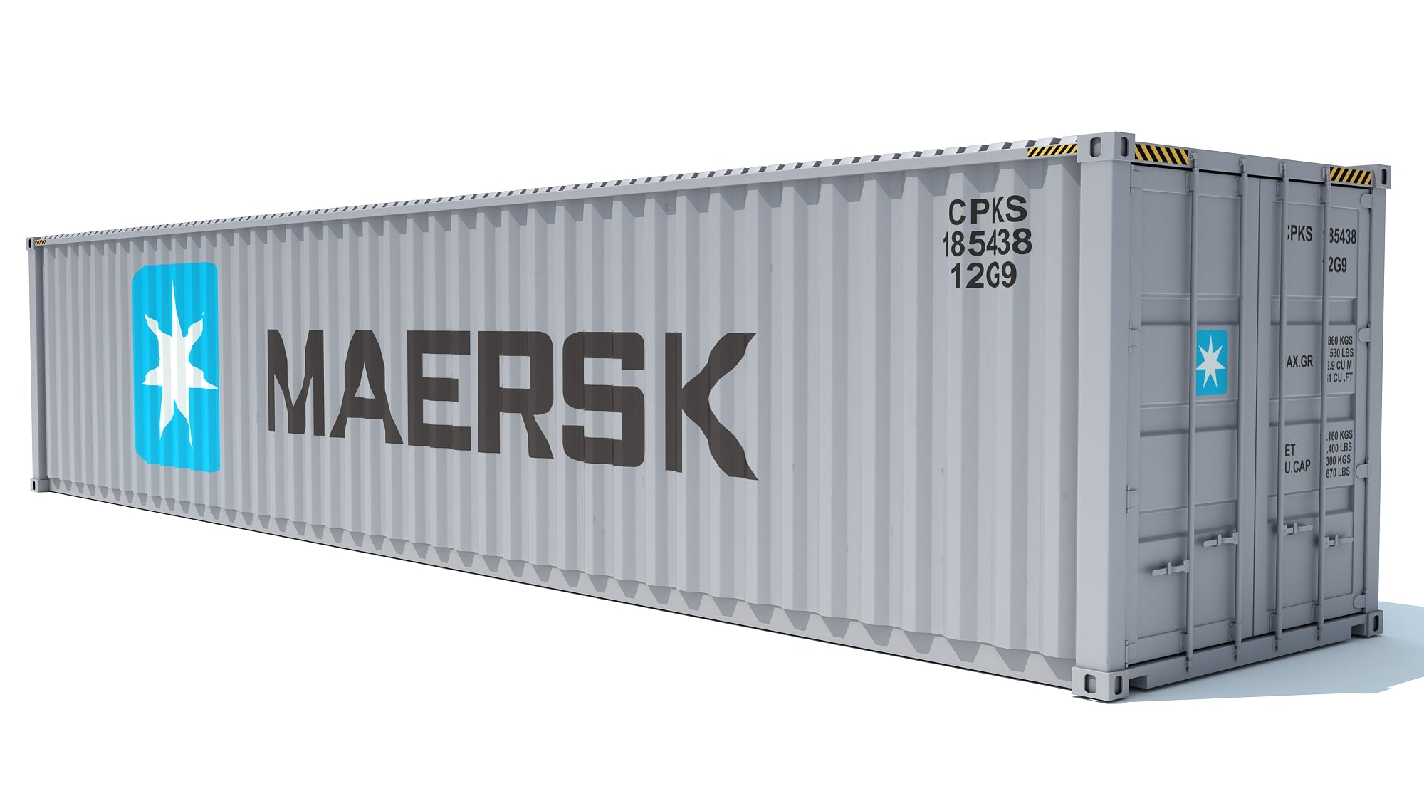 Shipping Container Maersk