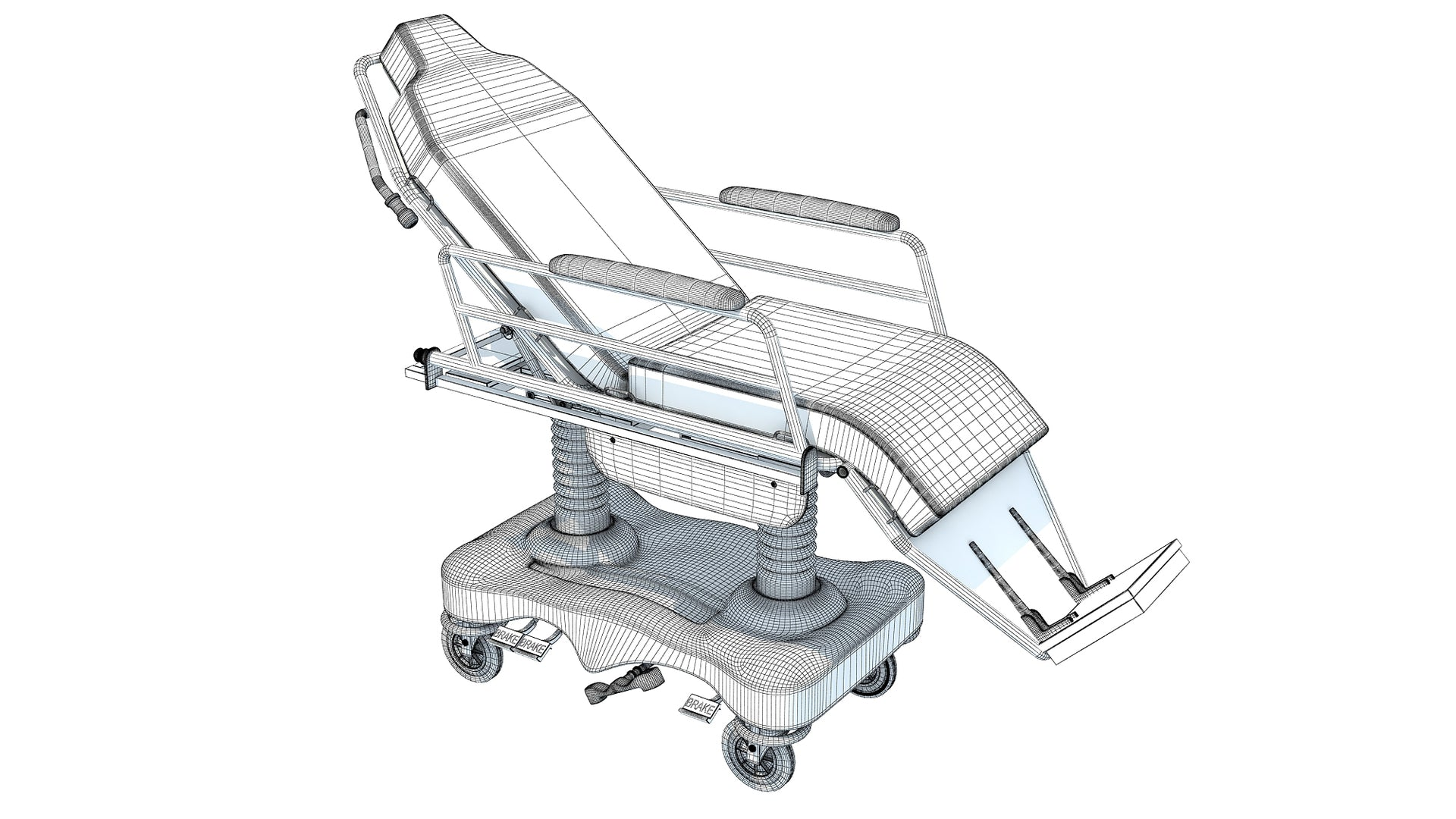 Medical Stretcher Chair