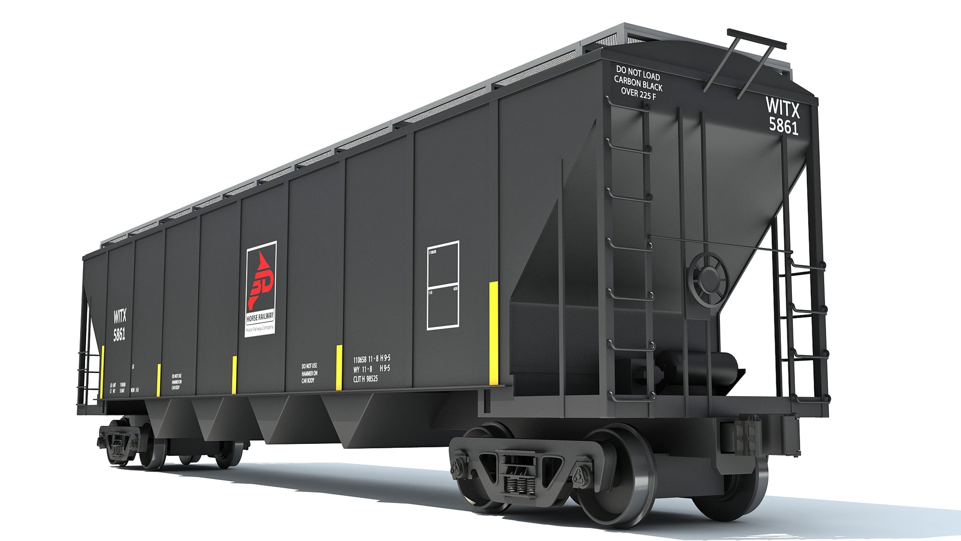 Covered Hopper Car