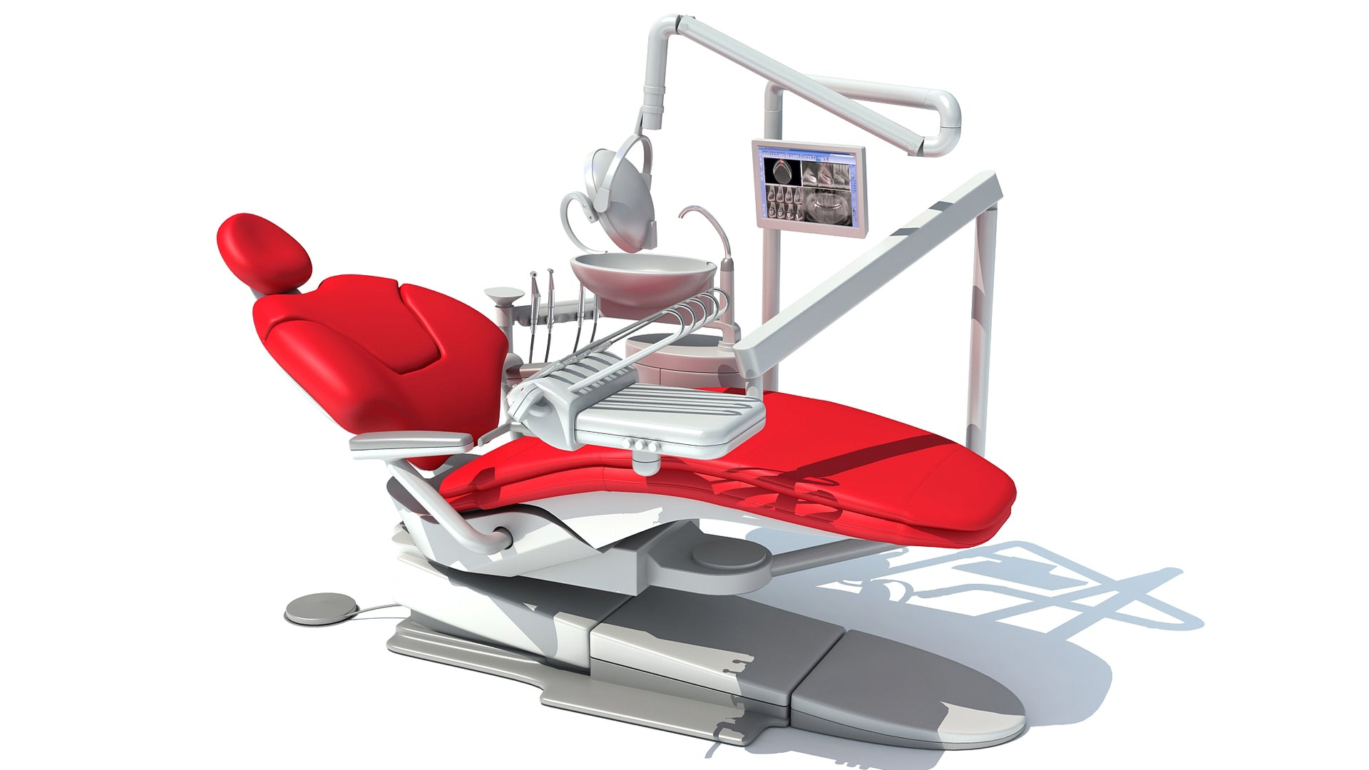 Dental Treatment Unit 3D Model