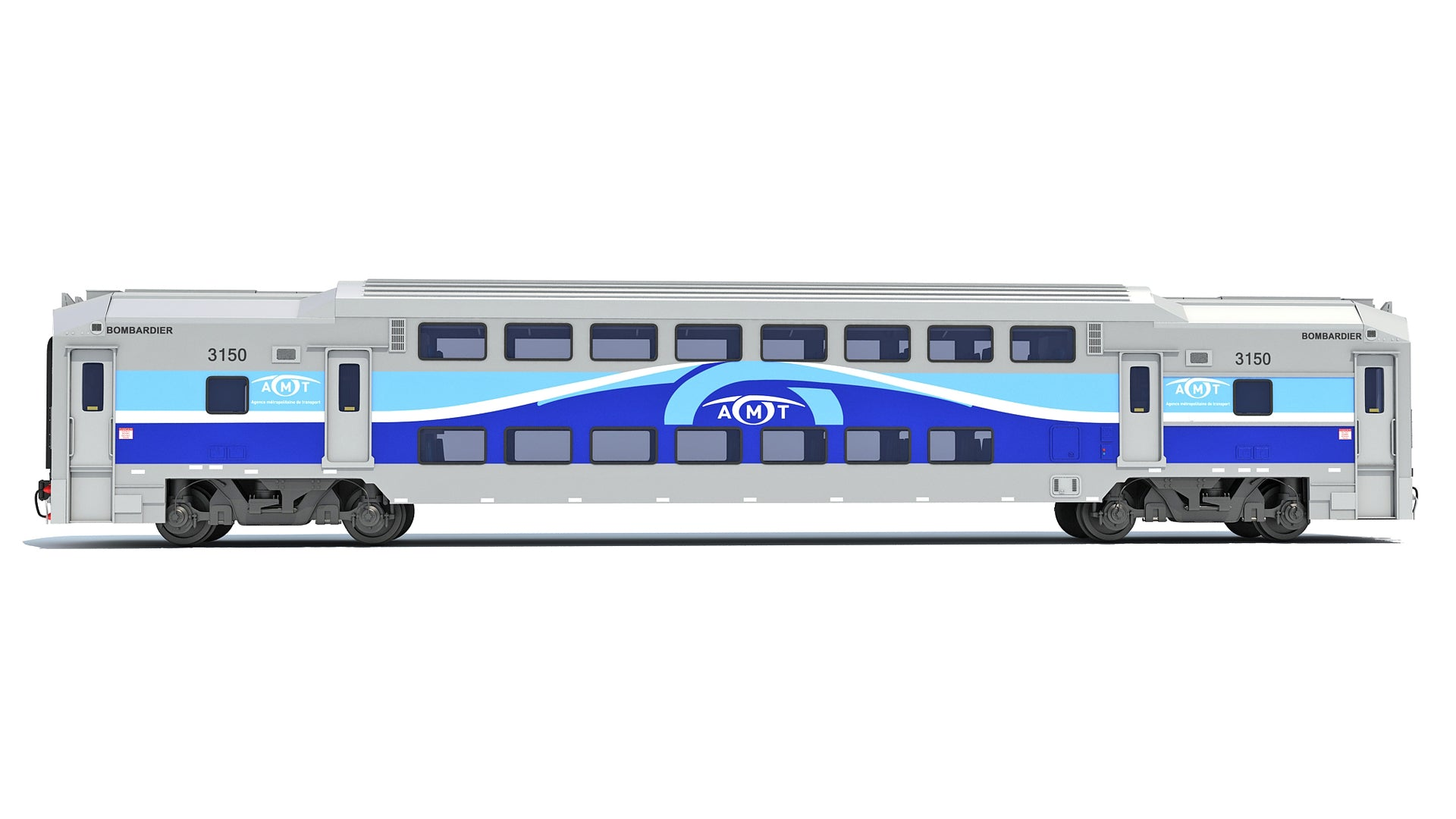 Exo Train Passenger Car