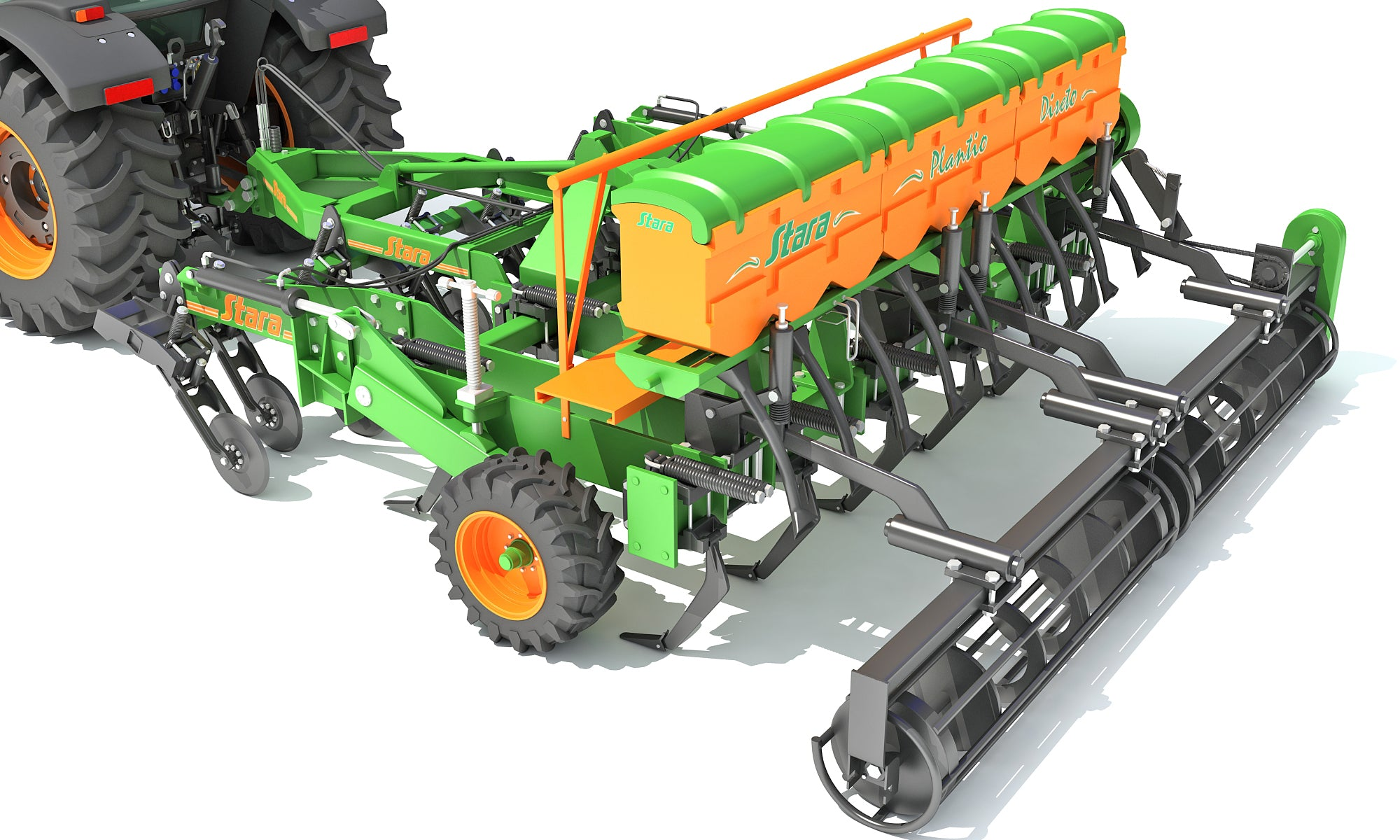 Stara Tractor with Seed Drill
