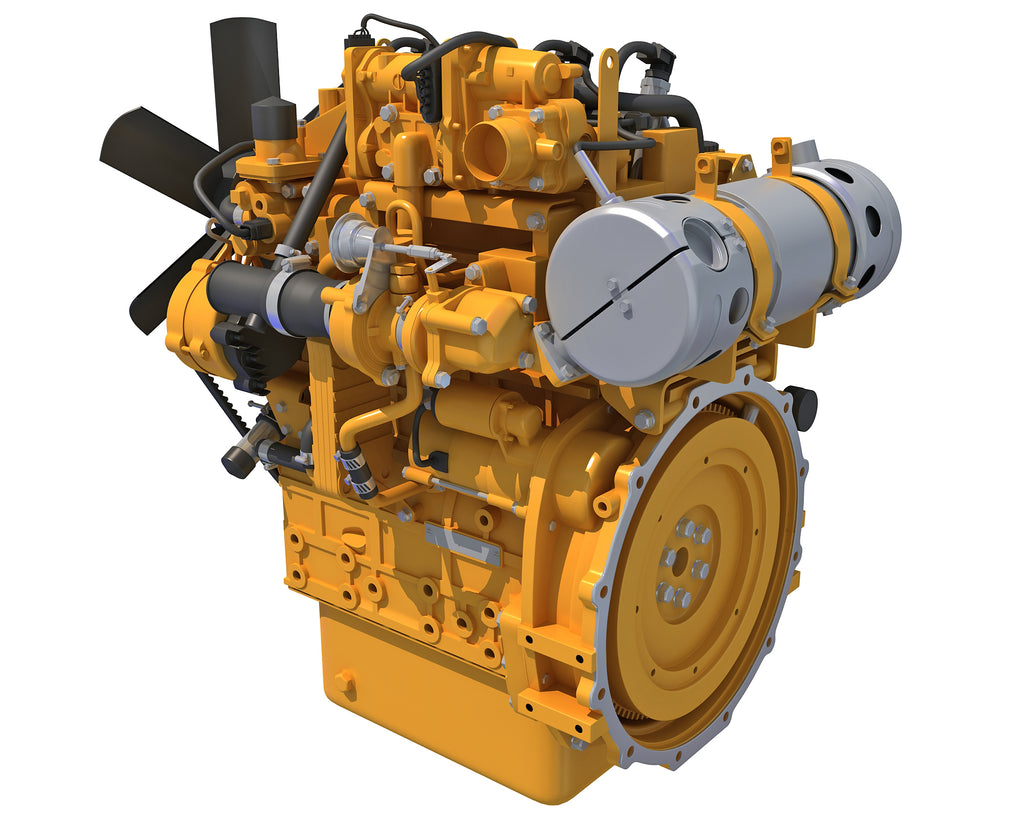 Diesel Engine - 3D Models