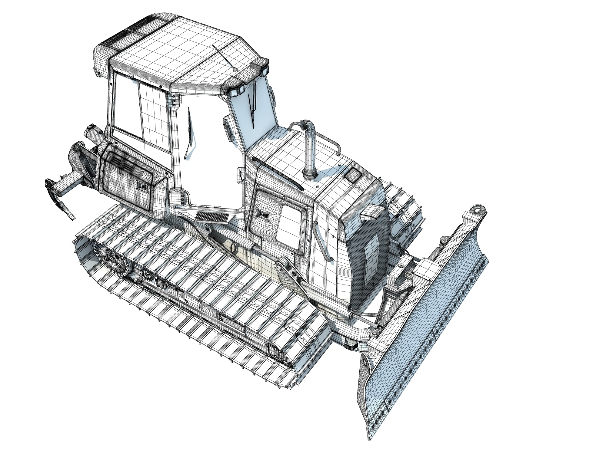 Bulldozer 3D Models