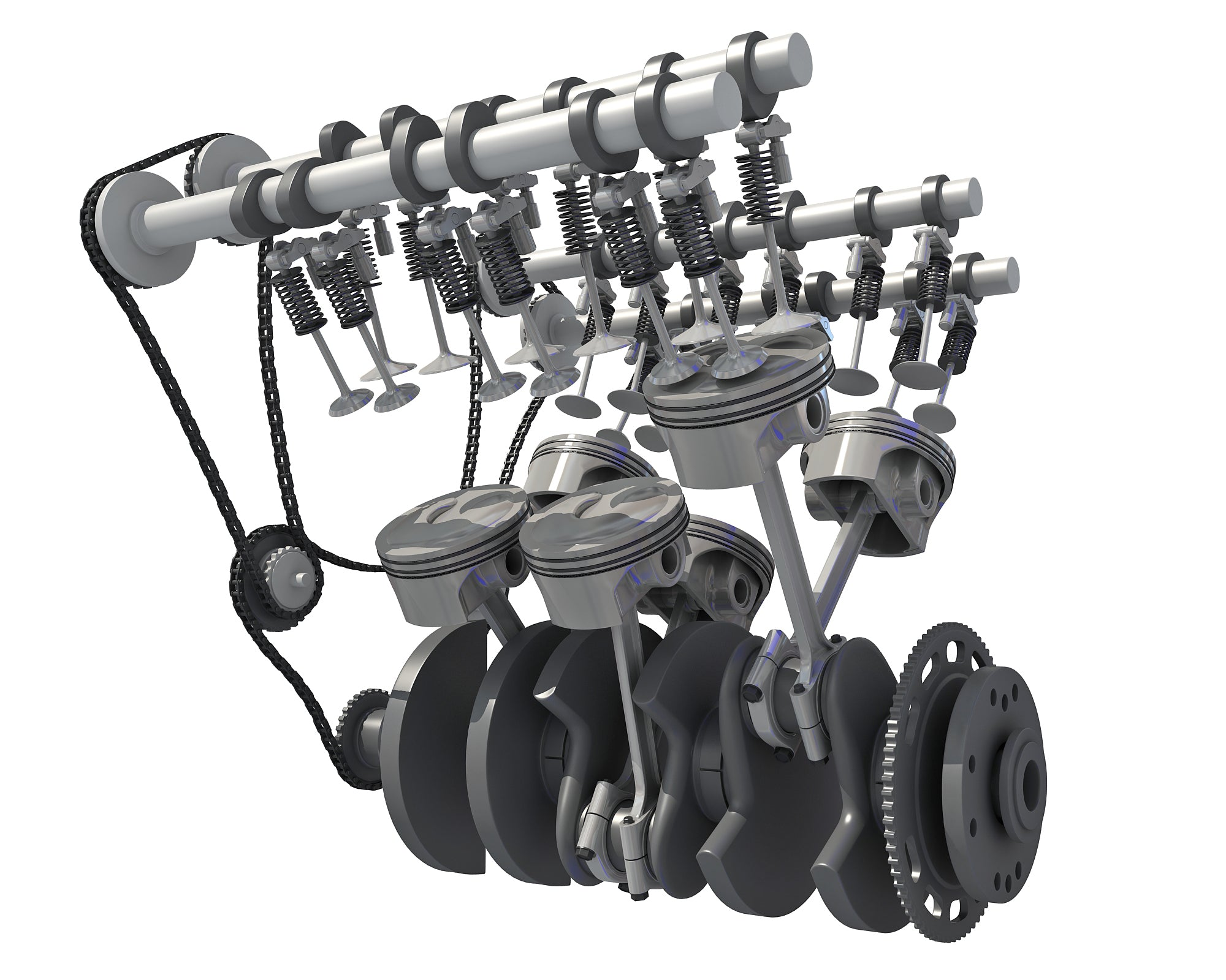 Inside Engine - 3D Models