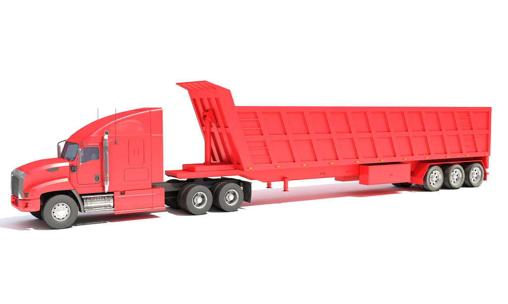 Truck with Tipper Trailer