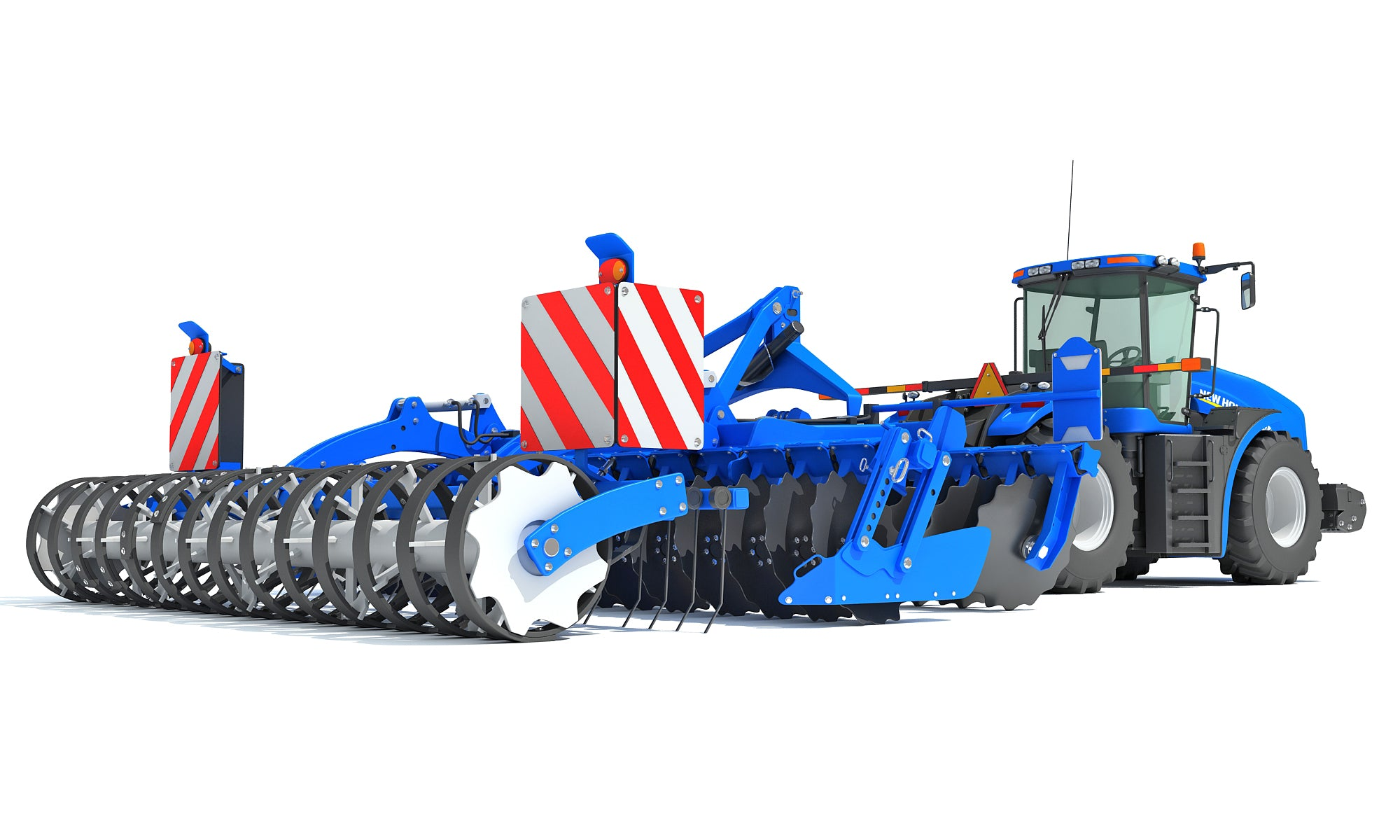 New Holland 3D Models Tractors