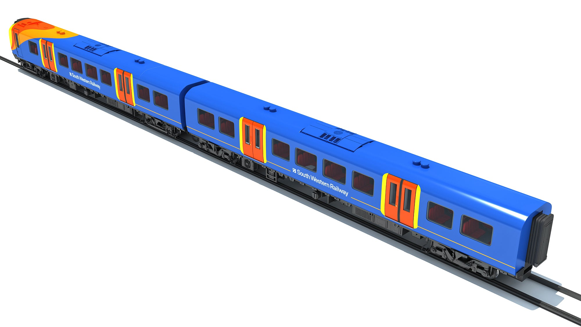 British South West Rail Class 3D Model