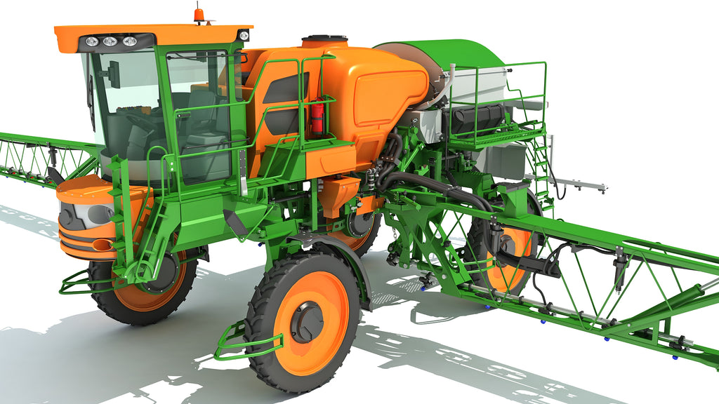 Sprayer and Spreader Machine