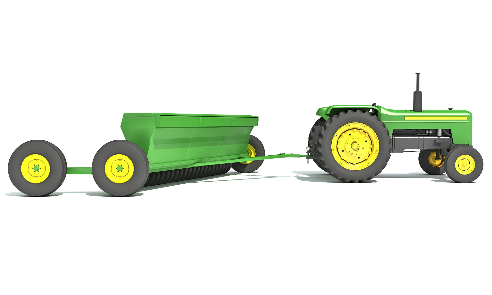 3D Tractor Disc Harrow