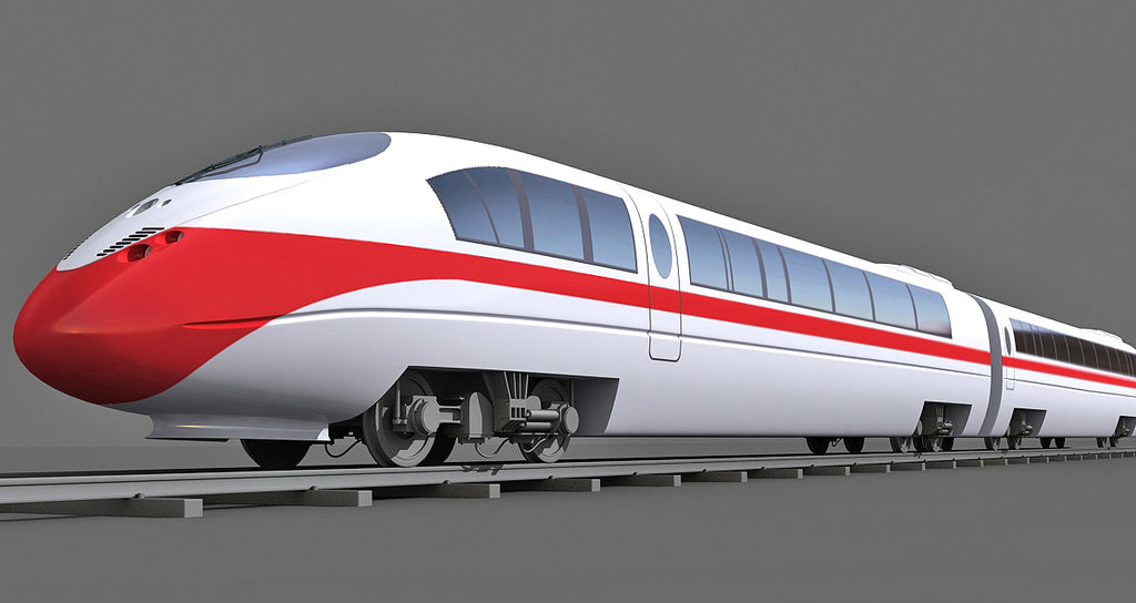 High-Speed Train Model