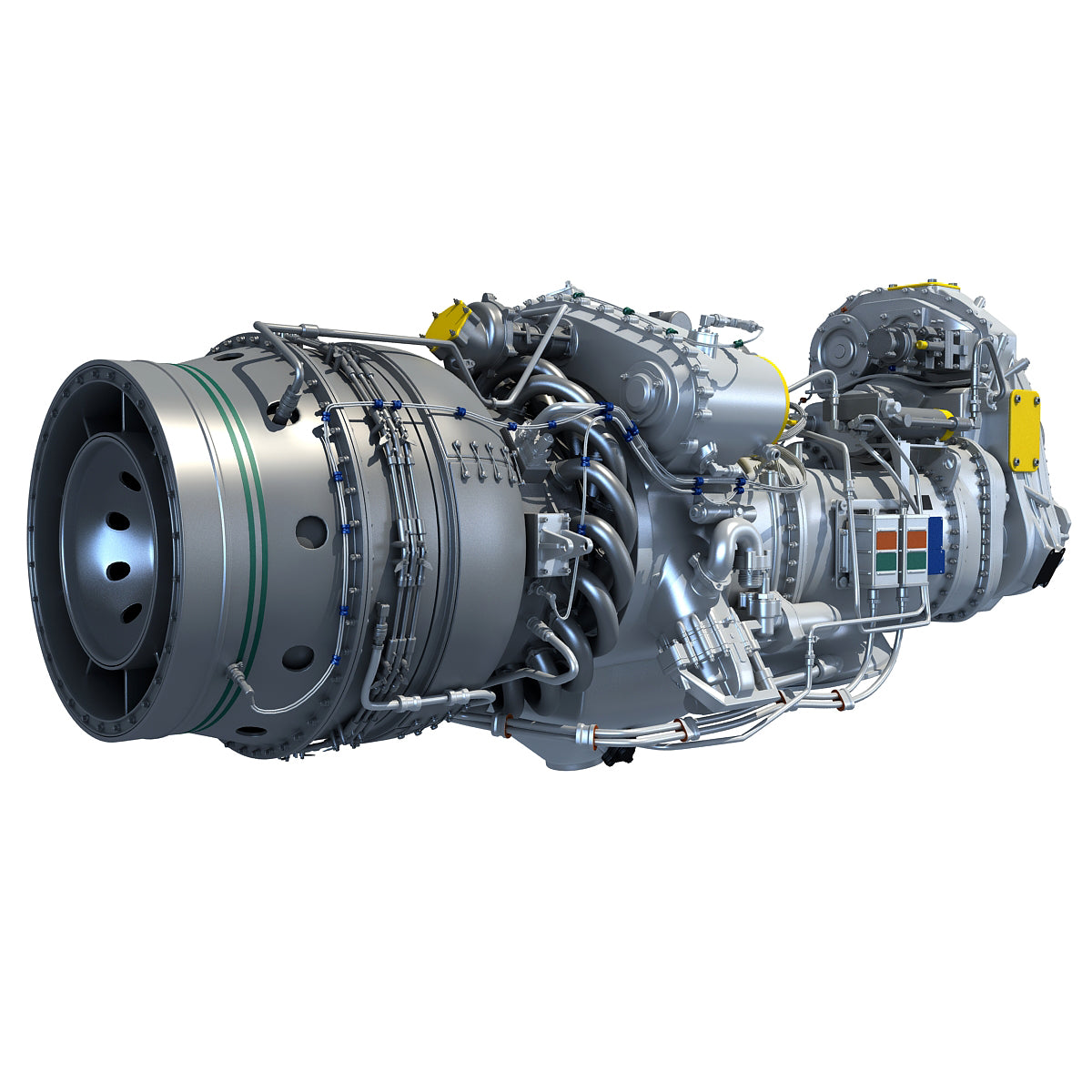 Turboprop Engines 3D Models
