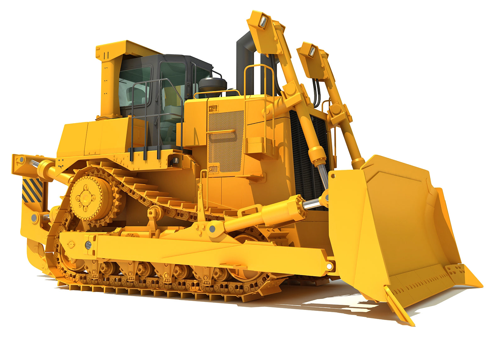 3D Models Tracked Dozer