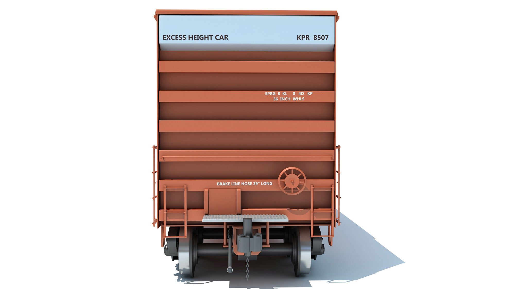 Boxcar Railroad Box Car