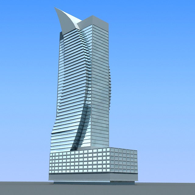 40 Buildings Skyscrapers 3D Models