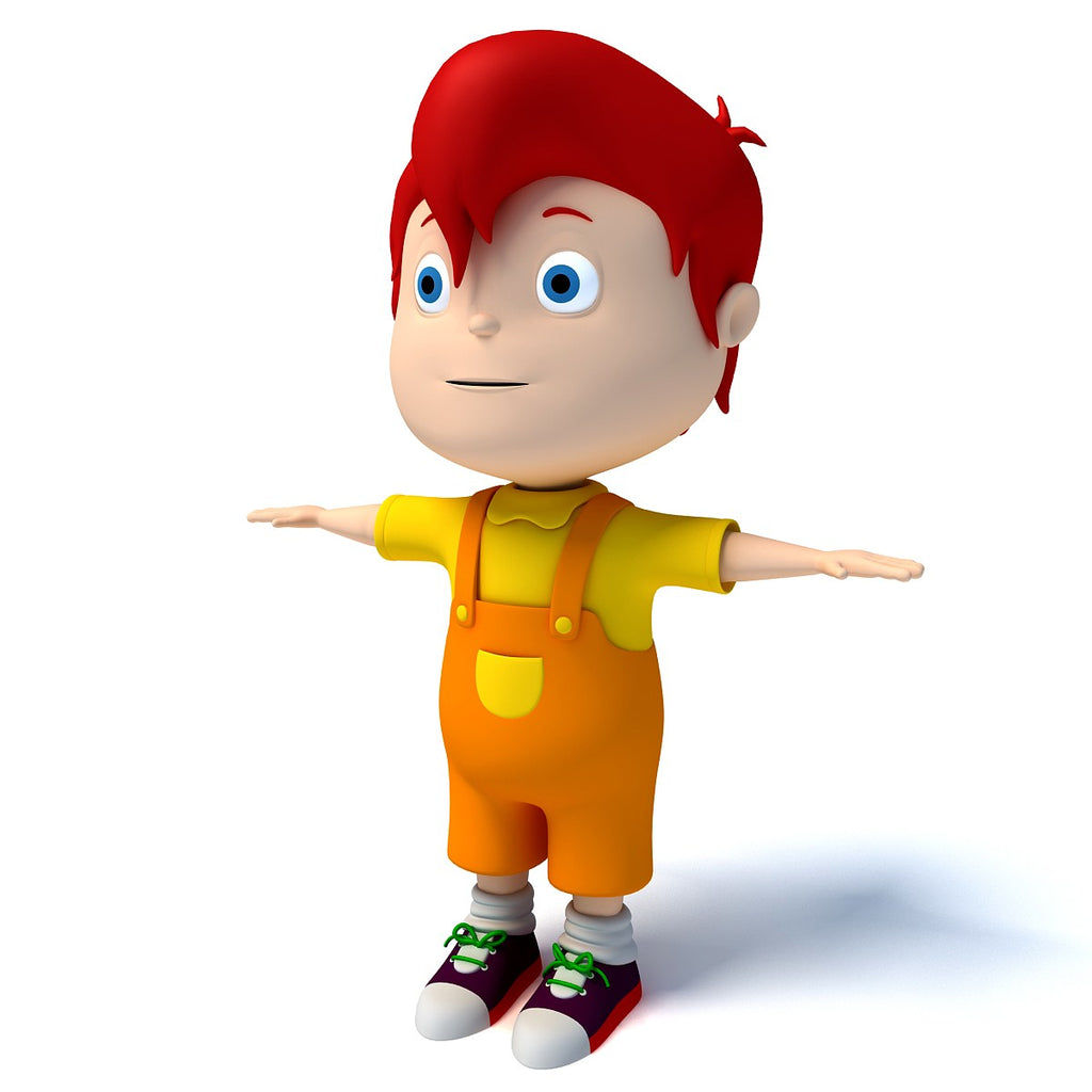 3D Cartoon Characters - Kid