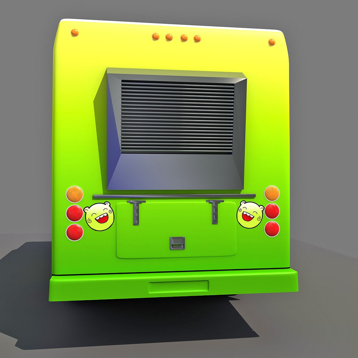 3D Food Trucks Models