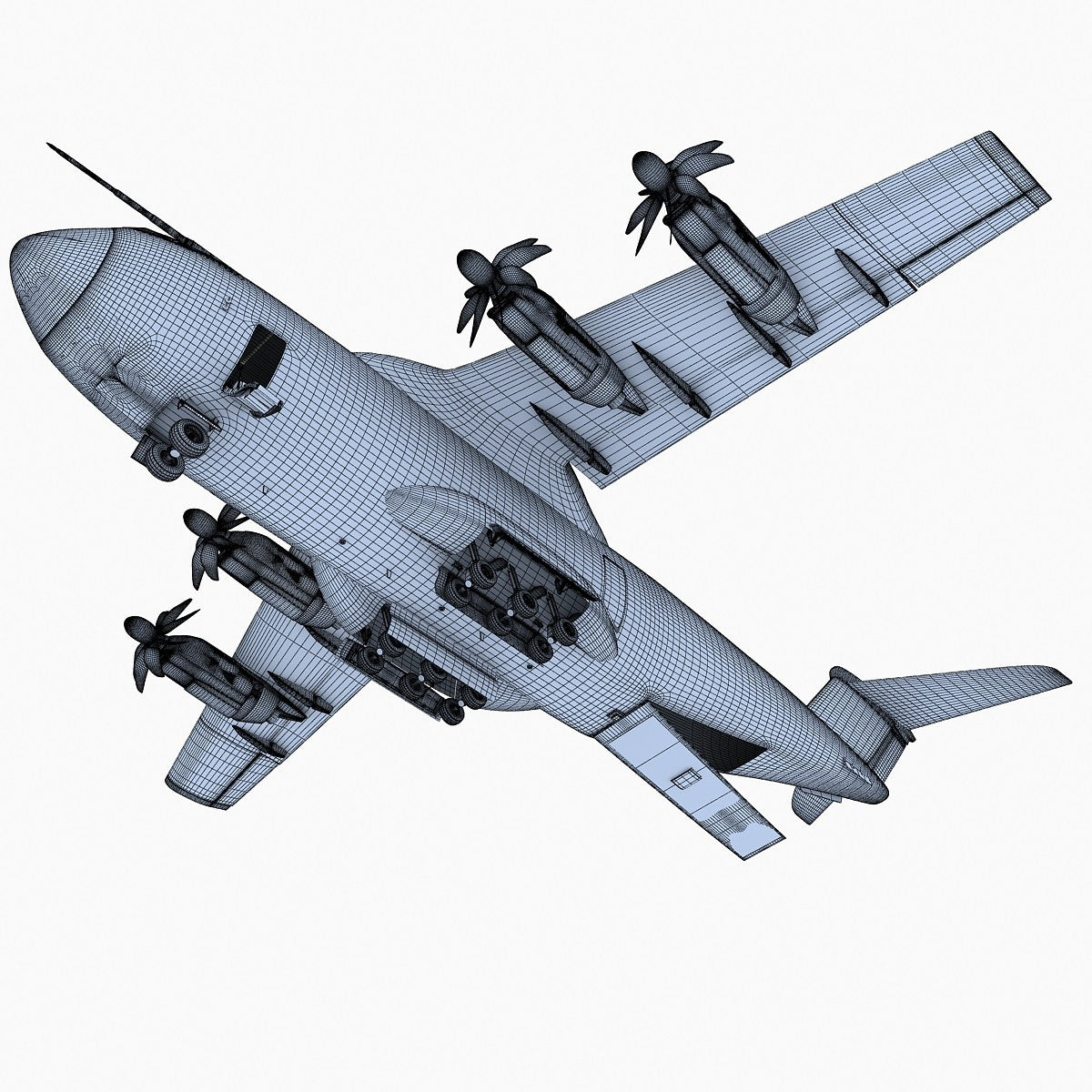 3D Military Aircraft Models